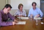Jorge Campos, Zena Becker e Gerson Basso