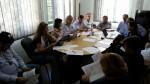 Reunião de trabalho para implantação do projeto Centro Sapiens