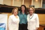 Zena Becker, Tatiana Filomeno (ASBEA) e Anita Pires