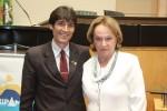 Antonio Moser (Sindimóveis) e Anita Pires