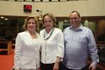 Zena, Anita e Adriano Ribeiro (CRA)