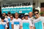 """Campanha """"Água Limpa é a Onda"""" luta por mais saneamento básico no Brasil"""