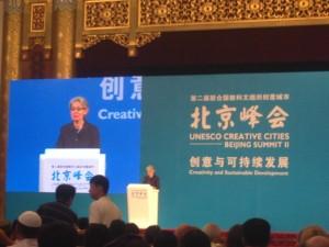 Abertura com Irina Bokova diretora geral da Unesco