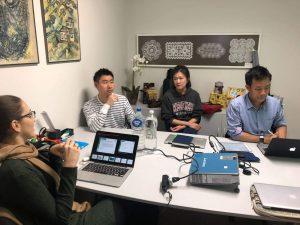 Voluntários da IBM projetam aplicativo com a Floripamanhã