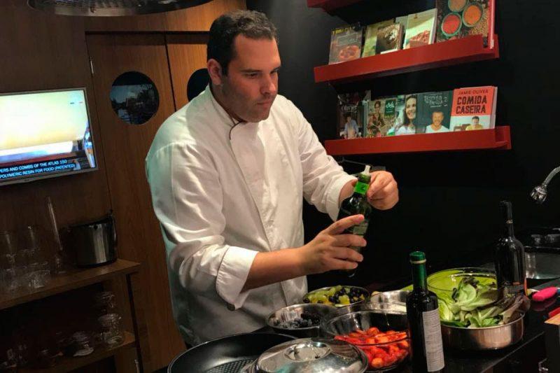 Daniel Paiva representa Florianópolis em concurso gastronômico na Itália