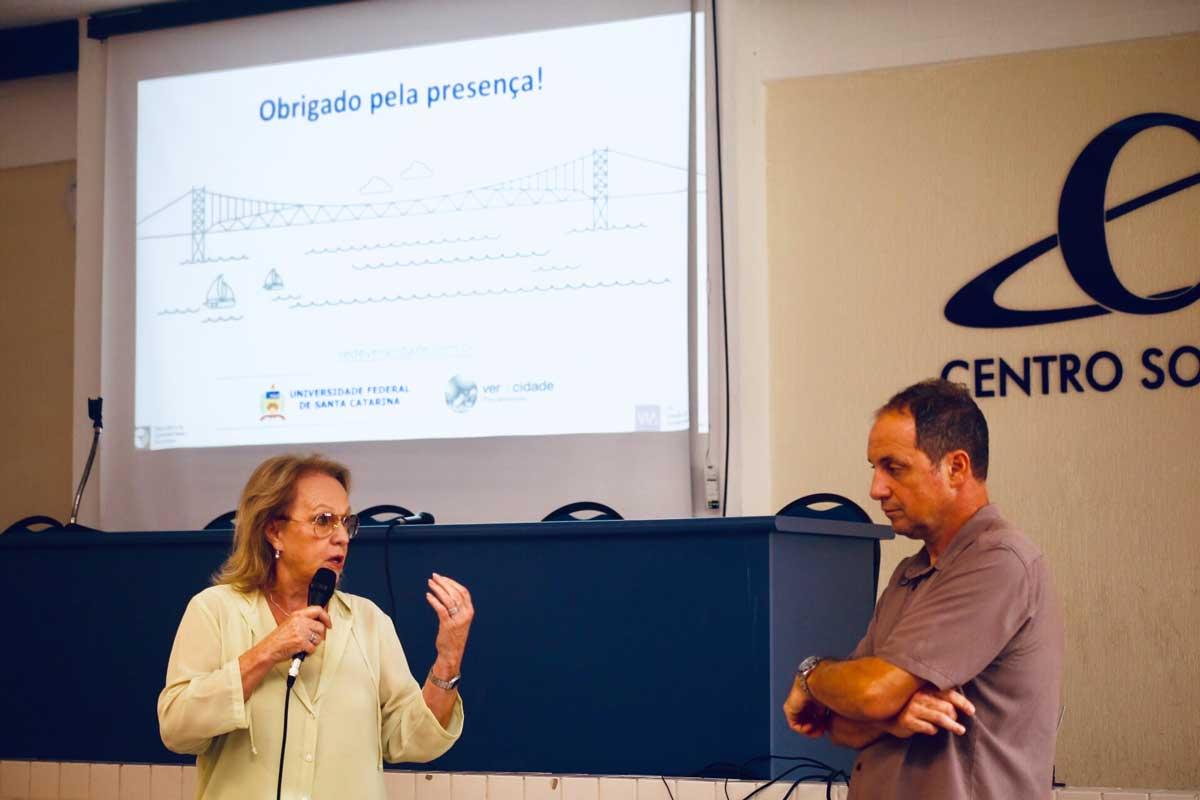 Seminário sobre os indicadores ambientais, urbanos e fiscais de Florianópolis
