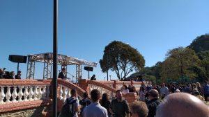 Inauguração da Praça Monte Serrat